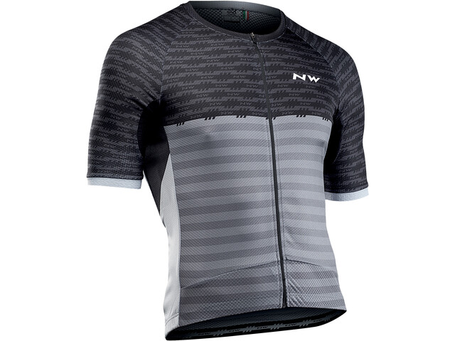 Northwave Storm Maillot Manches courtes Homme, black/anthracite